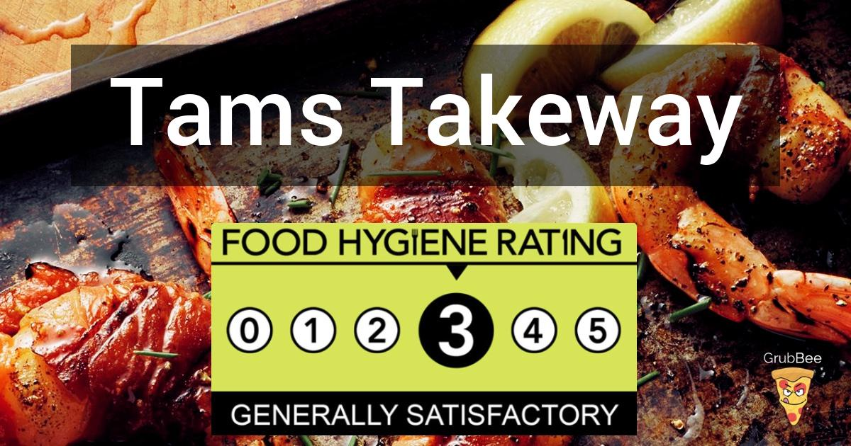 Tams Takeway In Warrington Food Hygiene Rating
