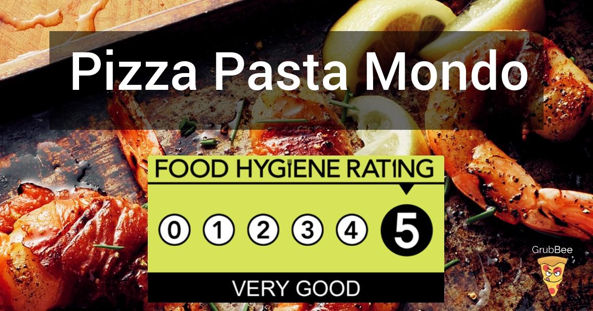 Pizza Pasta Mondo In South Somerset Food Hygiene Rating