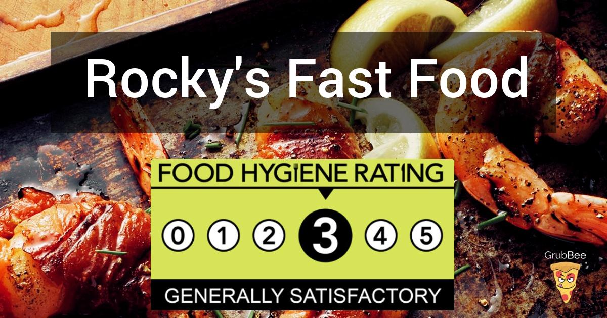 Rockys Fast Food In Ealing Food Hygiene Rating