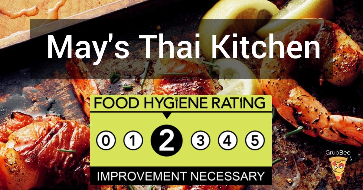 May S Thai Kitchen In Liverpool Food Hygiene Rating