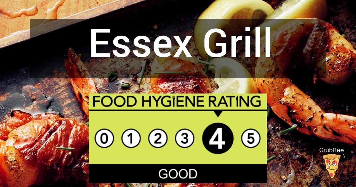Essex Grill In Southend On Sea Food Hygiene Rating