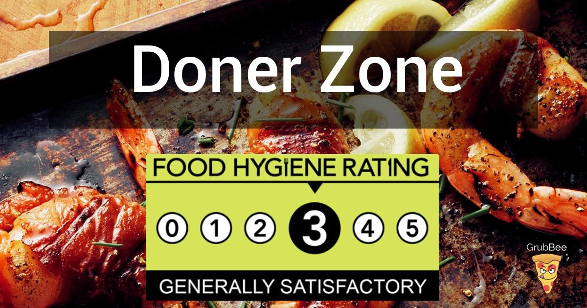 Doner Zone In Waltham Forest Food Hygiene Rating