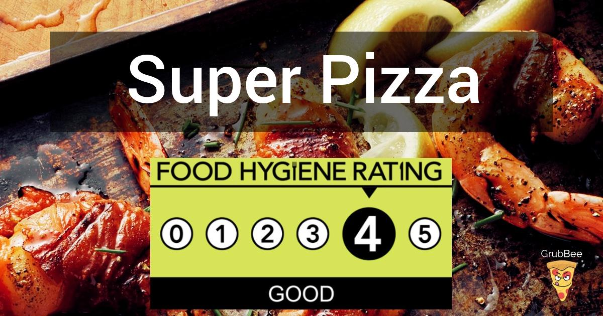 Super Pizza In Swindon Food Hygiene Rating