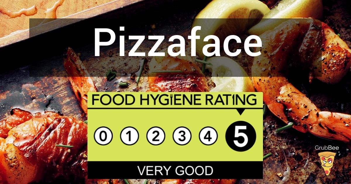 Pizzaface In Worthing Food Hygiene Rating