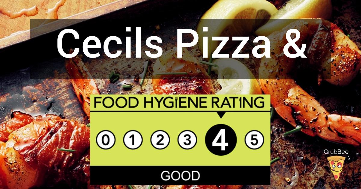 Cecils Pizza Grill Bar In York Food Hygiene Rating