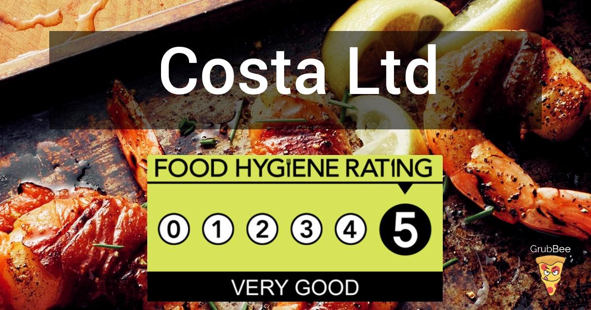 Costa Ltd In Barnet Food Hygiene Rating