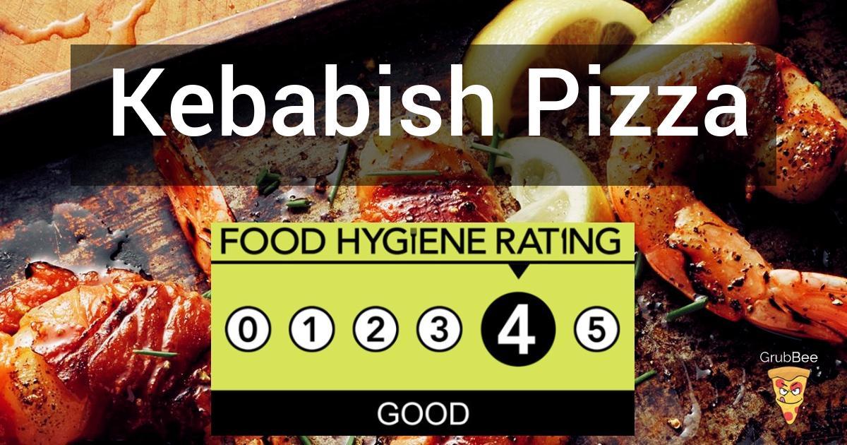 Kebabish Pizza In Slough Food Hygiene Rating
