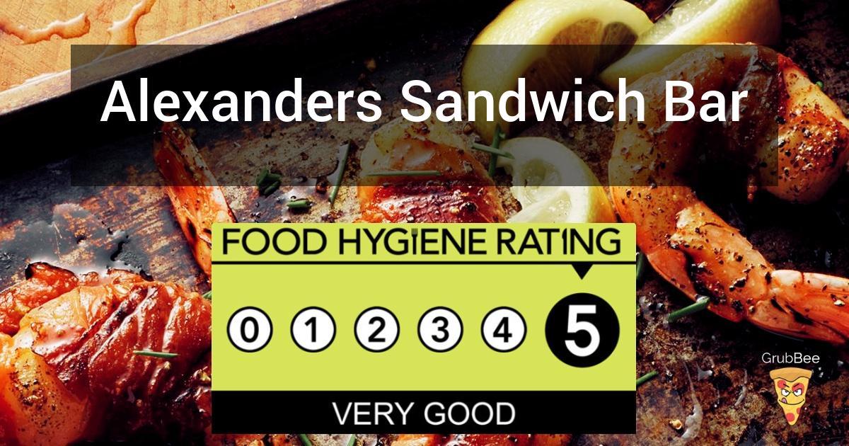 Alexanders Sandwich Bar In North Devon Food Hygiene Rating
