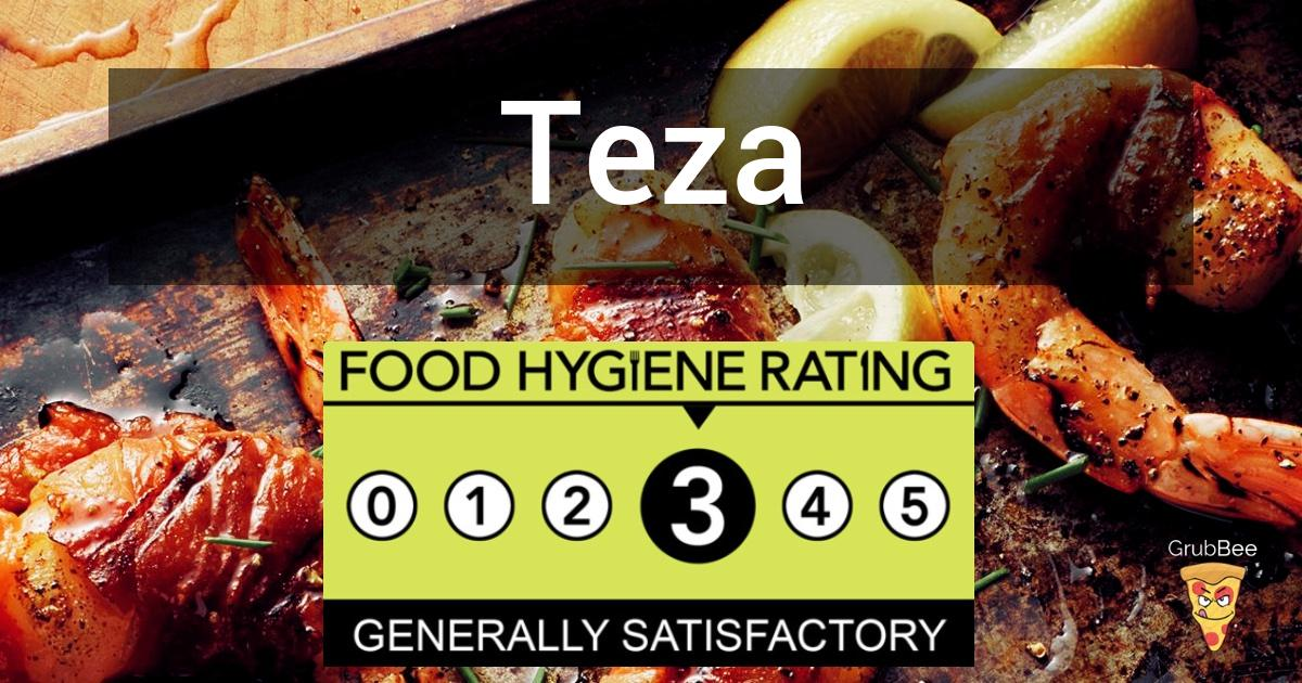 Teza In East Northamptonshire Food Hygiene Rating