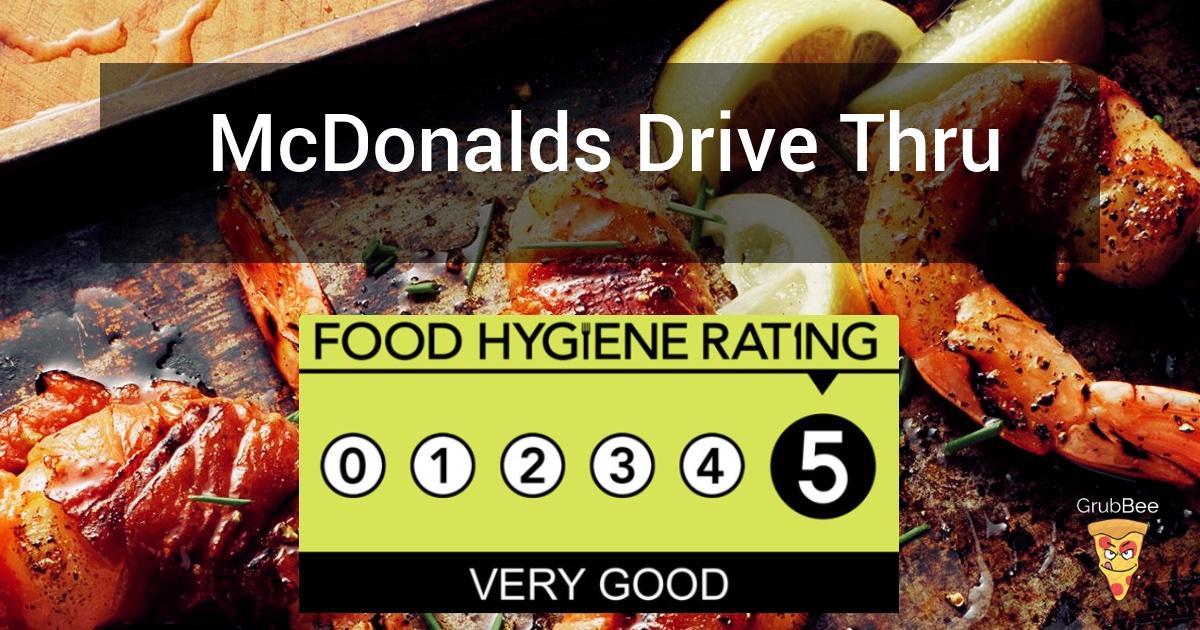 McDonalds Drive Thru in Crawley - Food Hygiene Rating