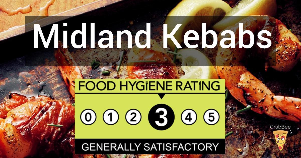 Midland Kebabs In Erewash Food Hygiene Rating