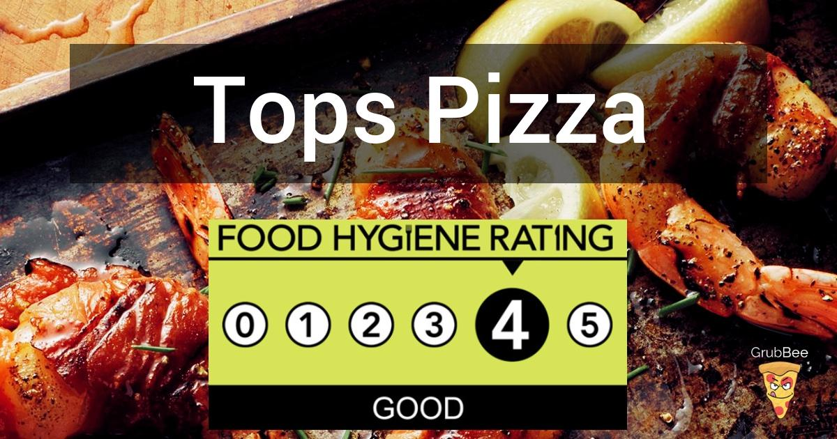 Tops Pizza In Watford Food Hygiene Rating
