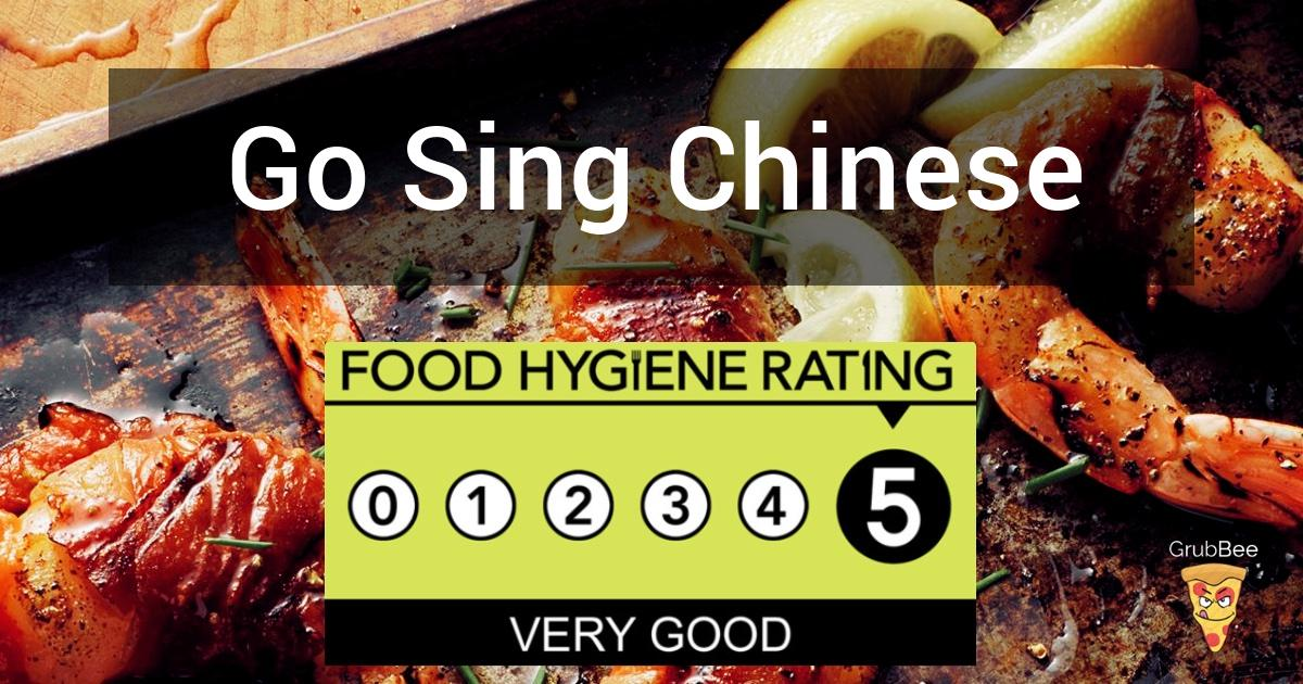 Go Sing Chinese Takeaway In Reading Food Hygiene Rating