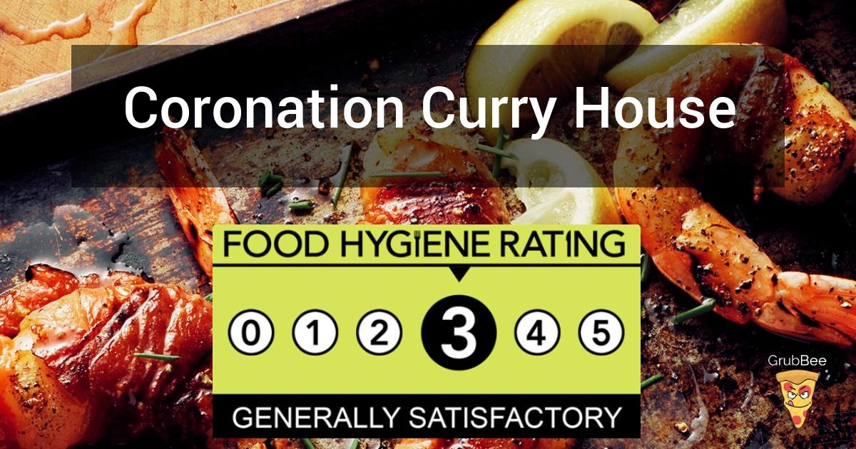 Coronation Curry House In Bristol Food Hygiene Rating