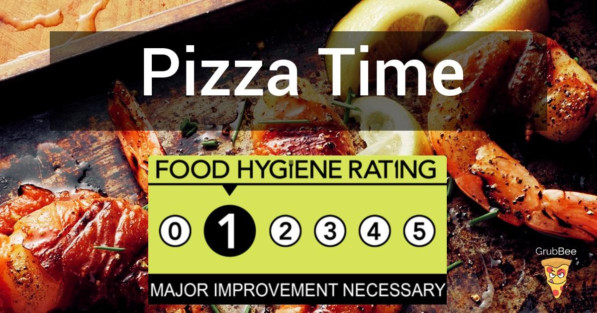 Pizza Time In Maldon Food Hygiene Rating