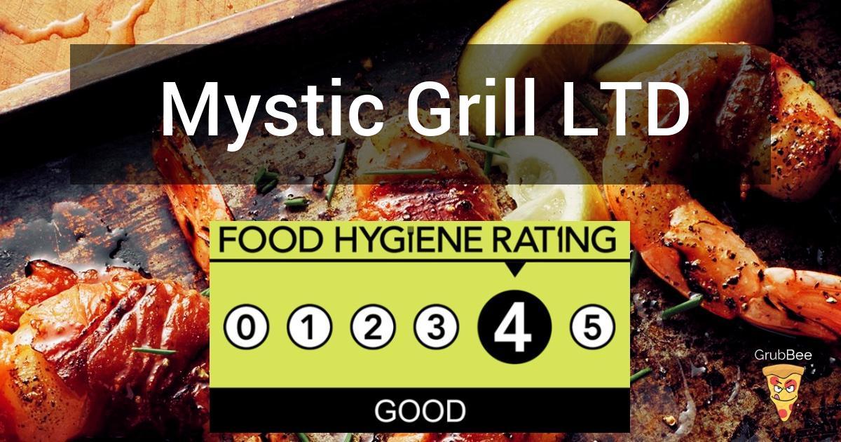 Mystic Grill Ltd In Hillingdon Food Hygiene Rating