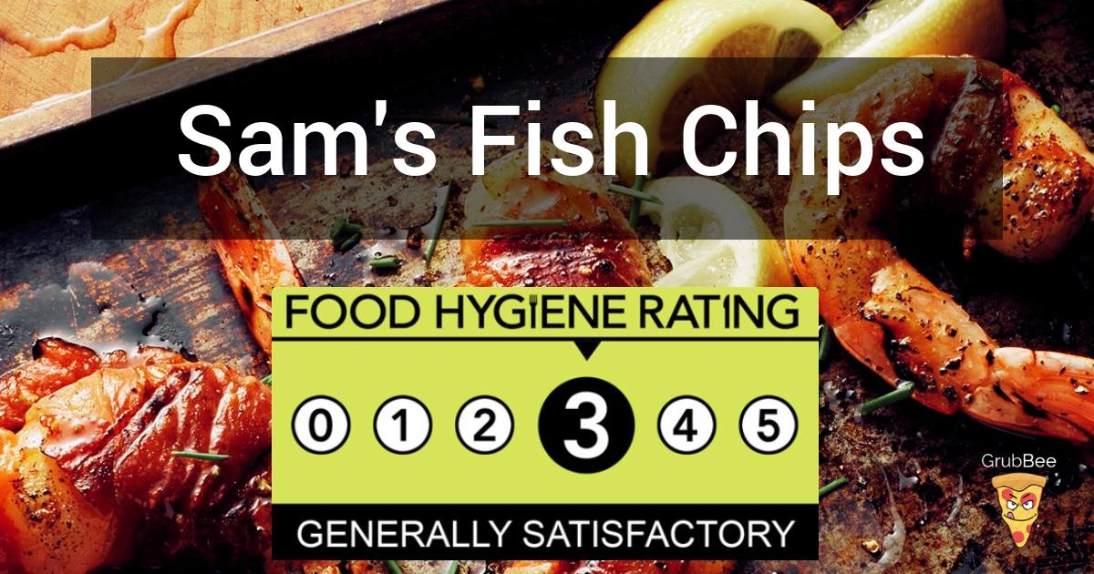 Sams Fish Chips Pizza In Sandwell Food Hygiene Rating