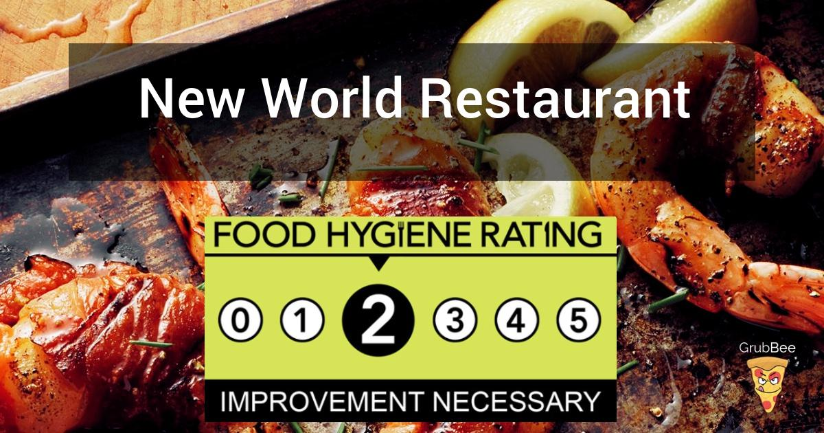 New World Restaurant In Newport Food Hygiene Rating