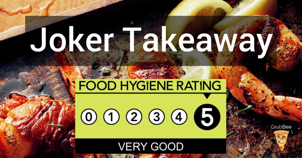 Joker Takeaway In Elmbridge Food Hygiene Rating