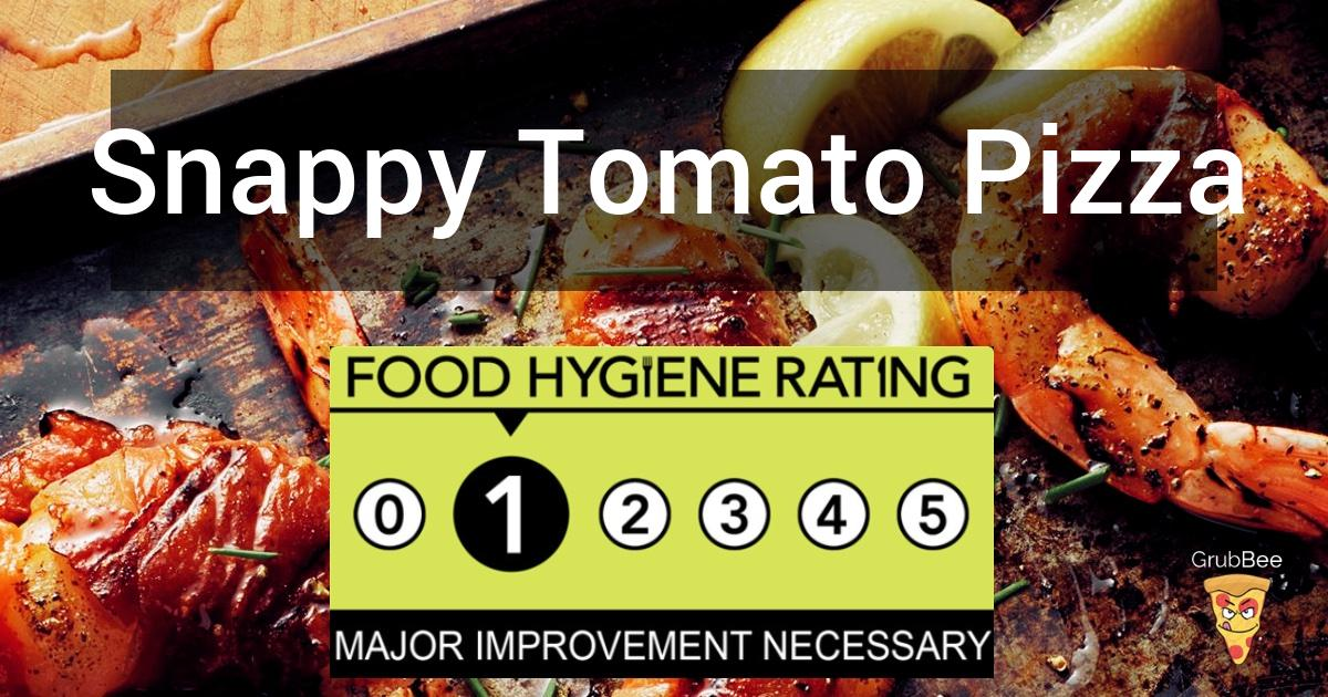 Snappy Tomato Pizza In Wychavon Food Hygiene Rating