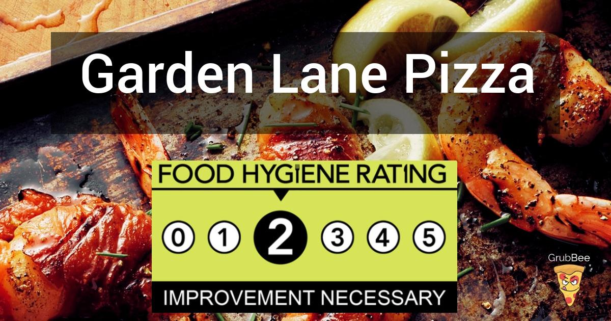 Garden Lane Pizza In Cheshire West And Chester Food