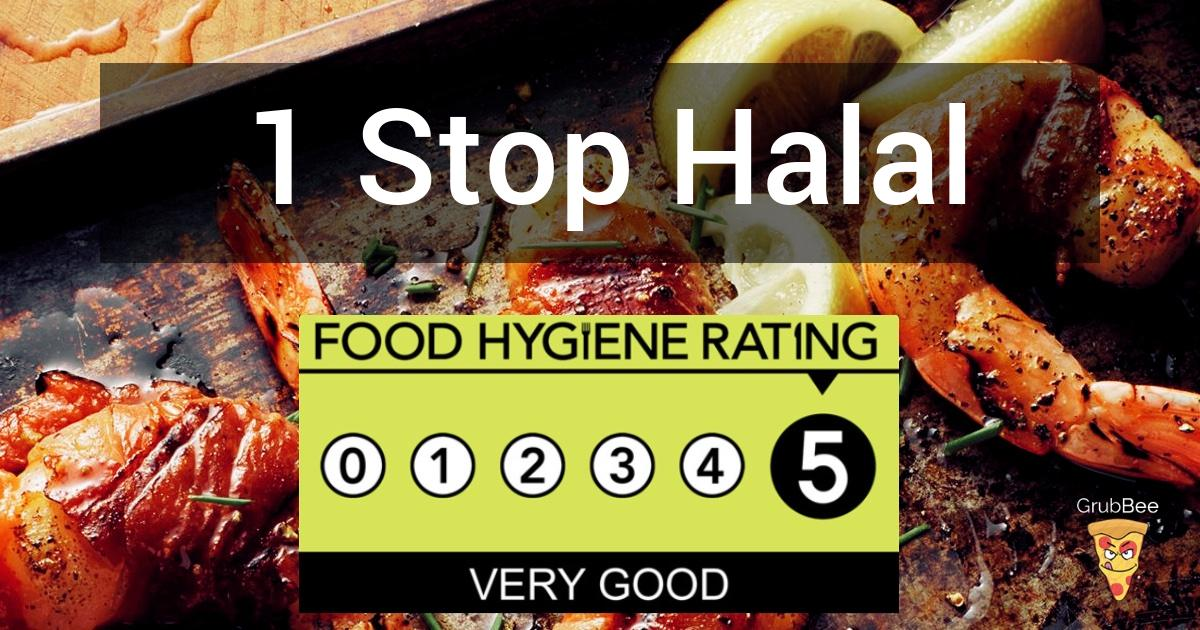 1 Stop Halal Staff Canteen In Mid Suffolk Food Hygiene Rating