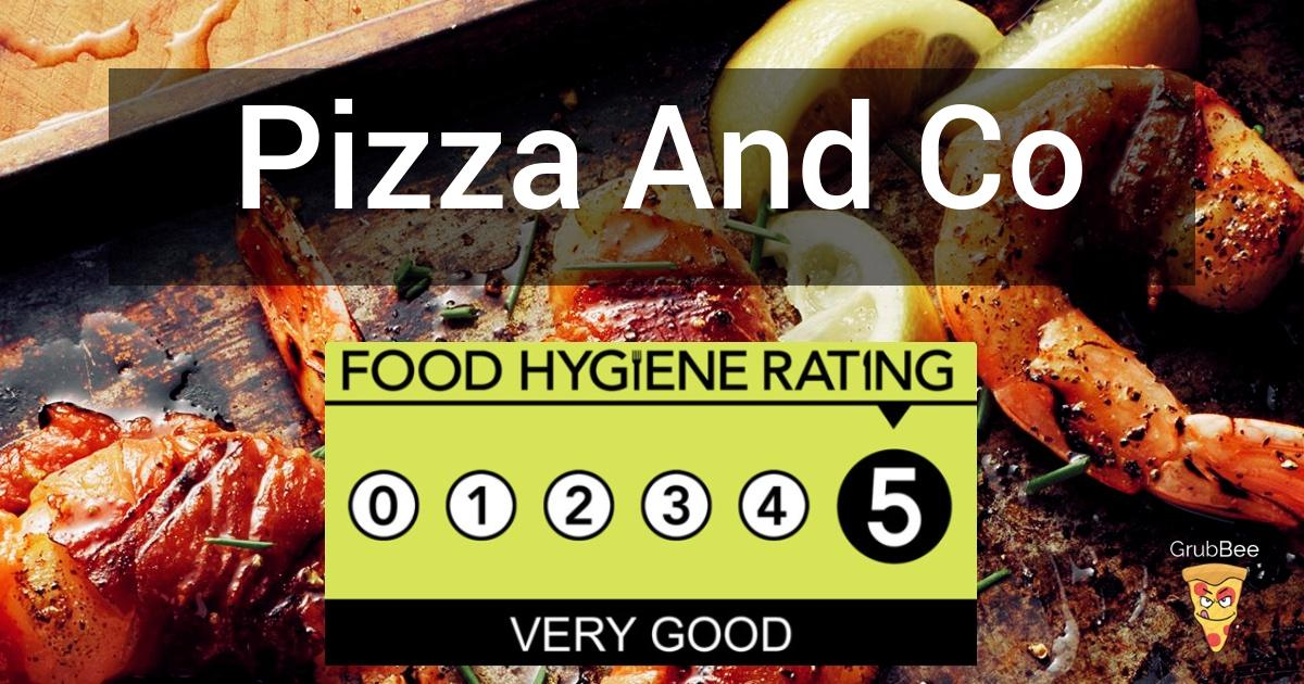 Pizza And Co Thornaby In Stockton On Tees Food Hygiene Rating