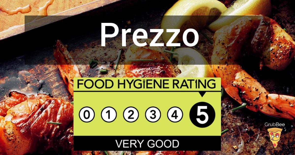 Prezzo In Isle Of Wight Food Hygiene Rating