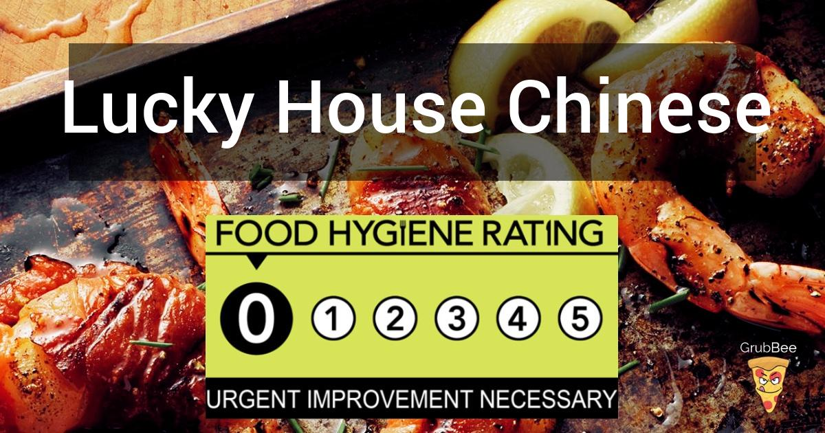 Lucky House Chinese Takeaway In Corby Food Hygiene Rating