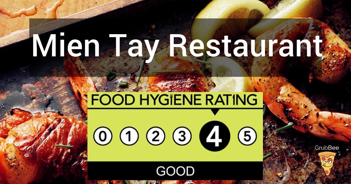 Mien Tay Restaurant In Haringey Food Hygiene Rating