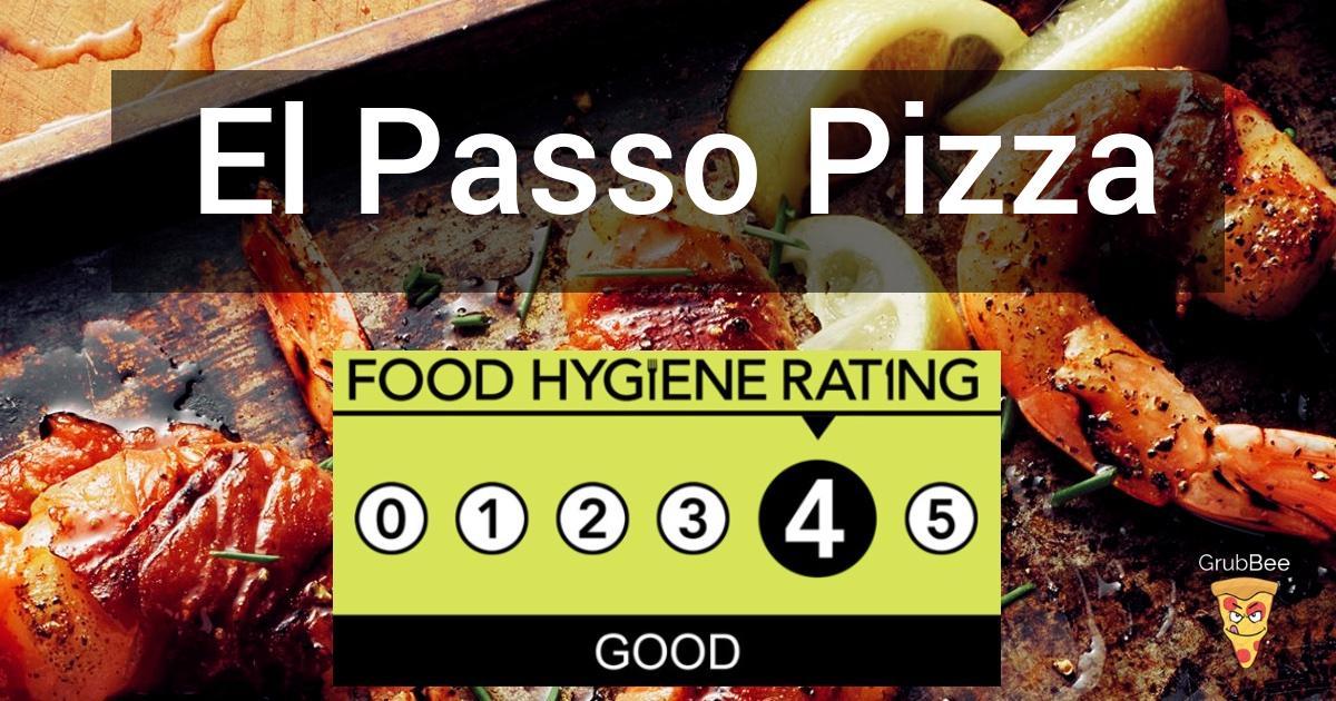 El Passo Pizza Ltd In Nottingham City Food Hygiene Rating