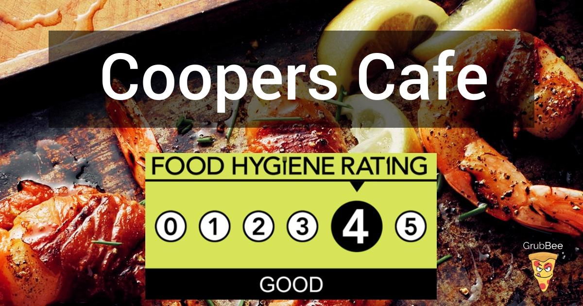 Coopers Cafe In Nuneaton And Bedworth Food Hygiene Rating